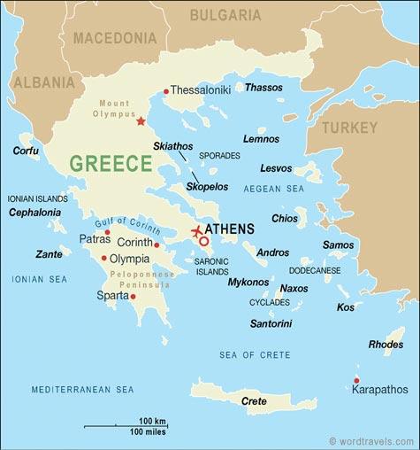 Ostrva Grcke Mapa Superjoden