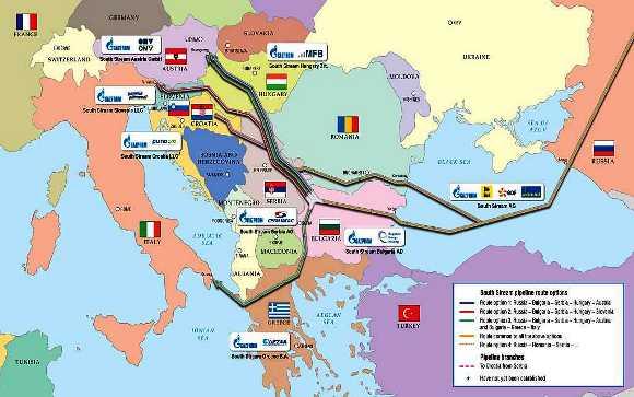 juzni tok srbija mapa BalkanMagazin :: Rusi odlučili – Južni tok ne ide u Grčku juzni tok srbija mapa