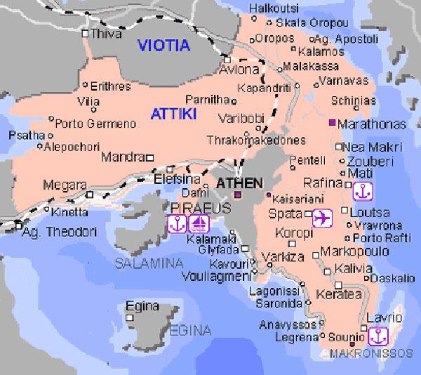 solun mapa grcke BalkanMagazin :: Kriza i Grčka turisticka strategija solun mapa grcke