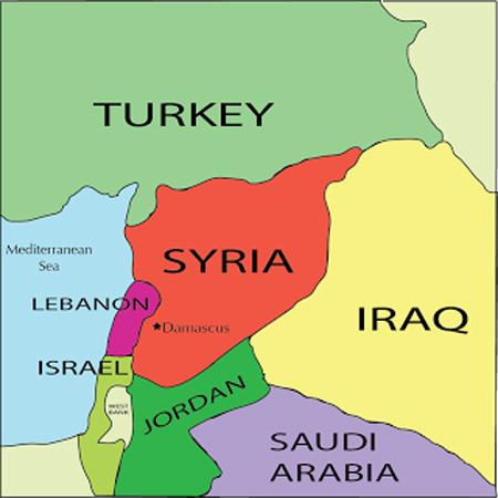 mapa sveta sirija BalkanMagazin :: Preti novi rat – veliki džihad između sunita i šiita mapa sveta sirija