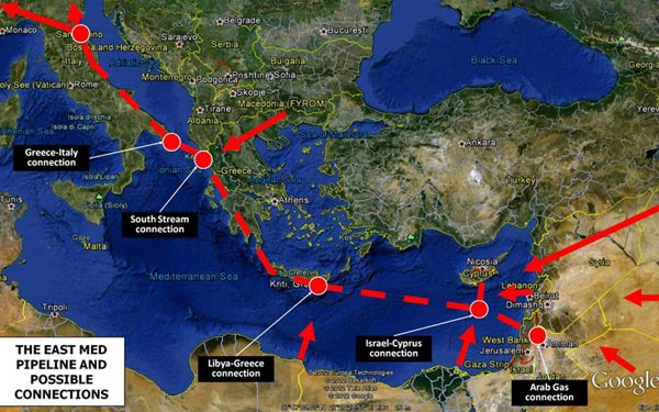 """mapa evrope kipar BalkanMagazin :: Američke igre oko Kipra i """"gasne"""" geopolitike mapa evrope kipar"""