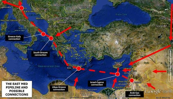 kipar mapa BalkanMagazin :: Gas kao oružje i moć kipar mapa