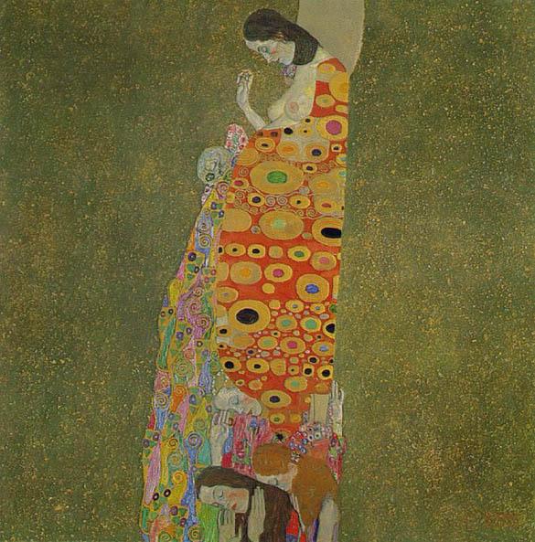 Gustav Klimt - Page 4 Klimt_hope2