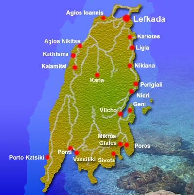ostrvo lefkada mapa BalkanMagazin :: JONSKA OSTRVA – LEFKADA ostrvo lefkada mapa